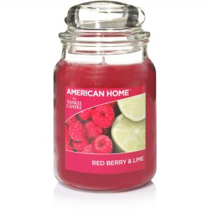Yankee Candle American Home Large 19oz Scented Jars Red Berry & Lime