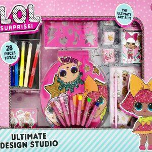 Doll Accessories Lets Be Friend Collection Ultimate Design Set Studio Multicolor 28 Pieces