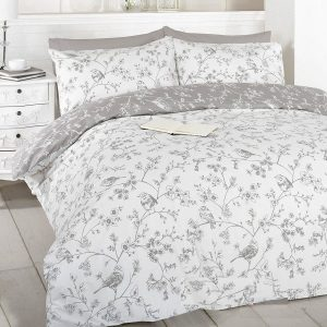 Duvet Sets King Size French Bird Toile Cotton and Polyester