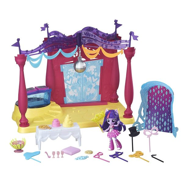 My Little Pony Equestria Girls Minis Canterlot High Dance Play Set with Doll