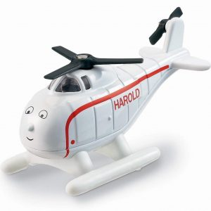 Fisher Price Toy - Thomas and Friends Take-n-Play - Harold Die Cast Metal Helicopter