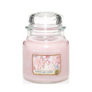 Yankee Candle Medium Jar, Snowflake Cookie