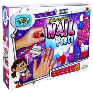 Grafix Make Your Own Nail Polish Childrens Kids Science Nail Painting Design Kit