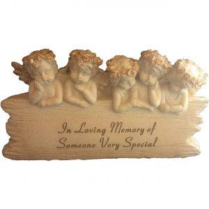 Cherub Memorial Ornament - In Loving Memory of Someone Special