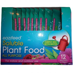 Soluble Plant Food All Purpose, handy 12 Sachets x 10 Grams
