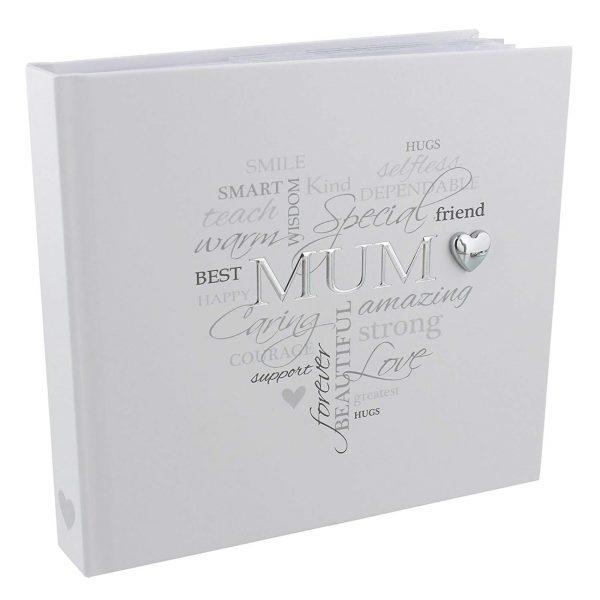 "Widdop Heartfelt Moments Photo Album 4"" x 6"" Foil Wording - Mum"