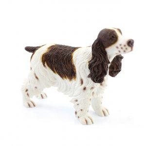 Liver and White Cocker Spaniel Gun Dog Ornament Gift Boxed