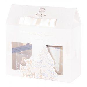 Baltus Candle Reed Diffuser Gift Set (Musk & Vanilla)