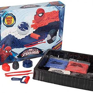 Spiderman Childrens Play Sand Activity Playsand Mould Set Never Dries Out