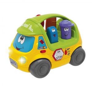 Chicco Talking School Bus Toy - Assorted Colours