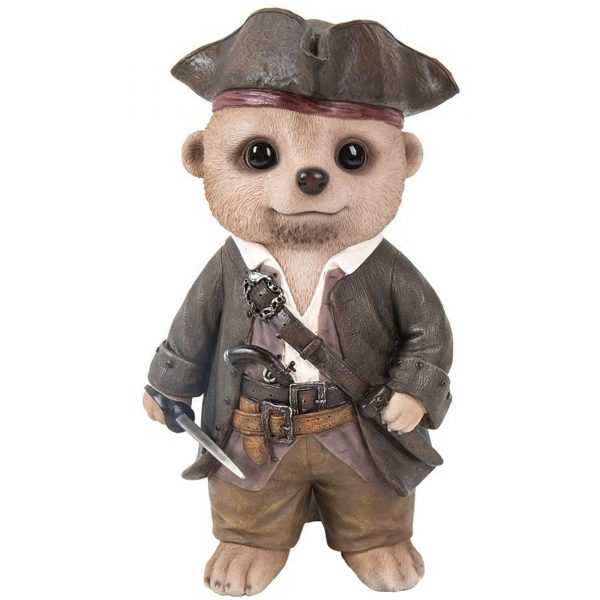Vivid Arts- Baby Meerkat Pet Pal- Pirate (Size D)
