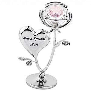 """Crystocraft """"For a Special Nan Ornament with Swarovski Crystal"""