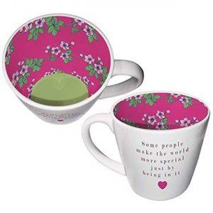 Mug Ceramic Tea/coffee Inside Out Mug for Someone Special