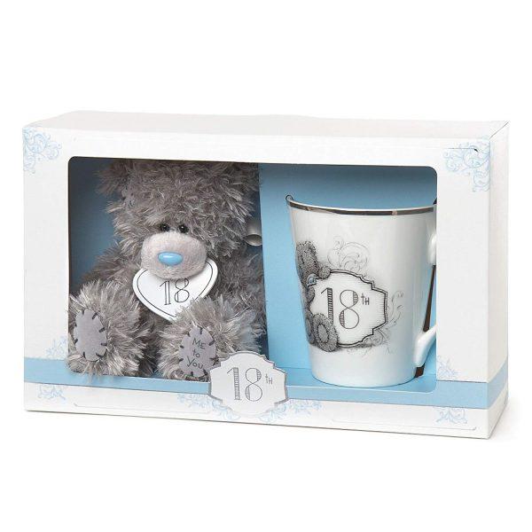Me to You 18th Birthday Tatty Teddy Bear & Mug Gift Set