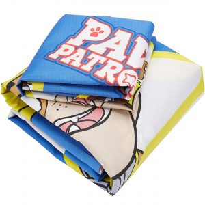 Paw Patrol Pawsome Single Duvet Set - Repeat Print Design