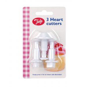 Tala 3-Piece Heart Cutter