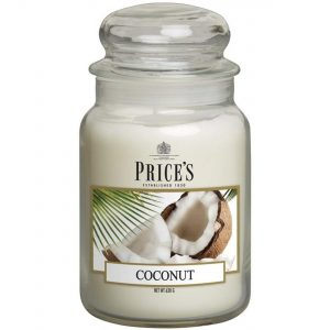 Price's Large Jar Candle Coconut PBJ010649