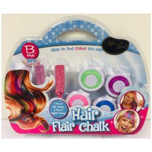 Crown Crest B Me Spa Hair Flar Chalk Set