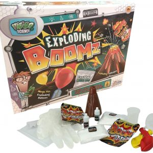 Grafix Weird Science Exploding Boomz Experiment Set Kit