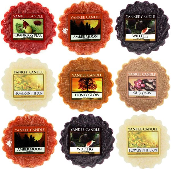 Yankee Candle Wax Tart Melts Scented Wax Melt Variety Buy Pack of 10