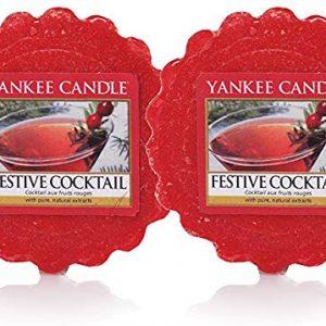 Yankee Candle 6 Festive Fragranced Wax Tart Melts Festive Cocktail