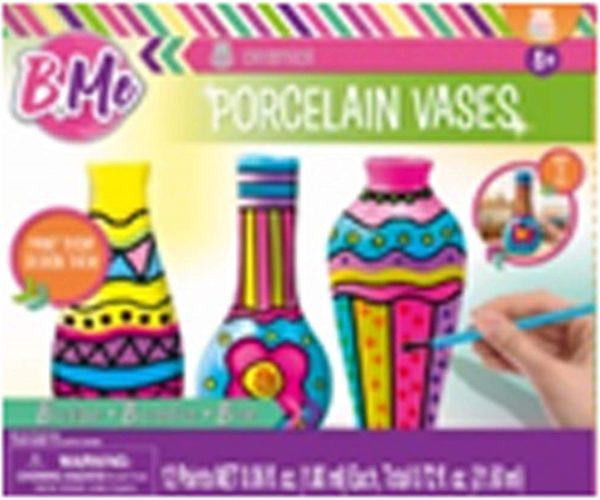 B Me Children's Arts & Craft Paint Your Own Porcelain Vases