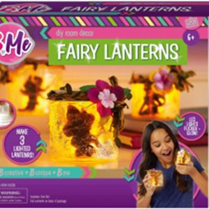 B Me Children's Arts & Craft Fairy Lantern Light Up Set Age 6+