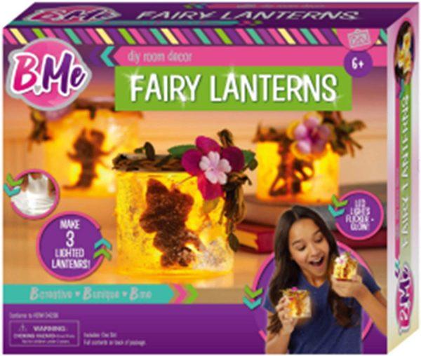 B Me Children's Arts & Craft Fairy Lantern Light Up Set Age 6+
