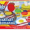 Kiddy Dough Breakfast Bonanza Modeling & Sculpting Playset with Non Toxic Compound Children's Kids Craft Set with 6 Tubes
