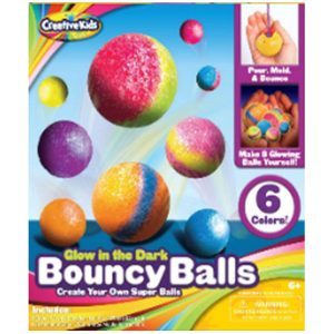 Creative Kids Make Your Own Bouncing Balls | kids Children's Bouncing balls Creative Set - Latest Educational for Science Toys Games Gift Present Idea For Stocking Fillers (Bouncy Balls)