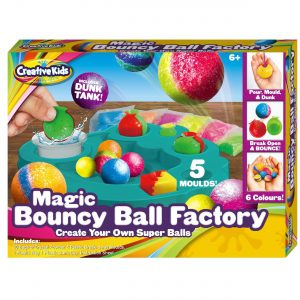 Creative Kids Make Your Own Bouncing Balls | kids Children's Bouncing balls Creative Set - Latest Educational for Science Toys Games Gift Present Idea For Stocking Fillers (Magic Bouncy Balls Factory)