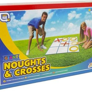 Games Hub Giant Noughts and Crosses Garden Family Game