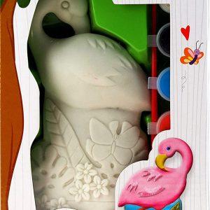 Paint Your Own Garden Flamingo Outdoor Garden Decoration Craft Kit
