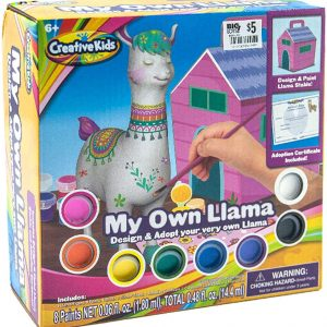 Creative Kids My Own Llama Paint Set