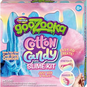 Cotton Candy Slime Kit Just Mix & Play Make Your Own Cool Slimy Creations