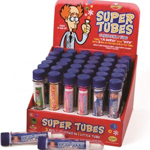 Be Amazing 36 Pieces Super Tube Display Gift for Kids