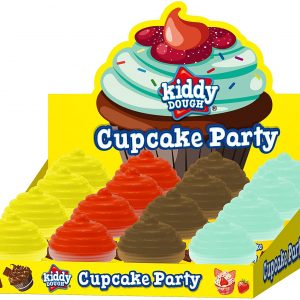 Kiddy Dough Cupcake Party Kids Play Dough Assorted Colours