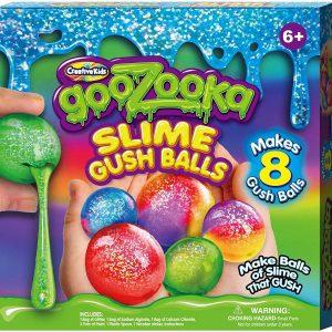 Online Street Creative Kids Goozooka Slime Gush Balls Makes 8 Slime Gush Balls for 6+ Years Kids