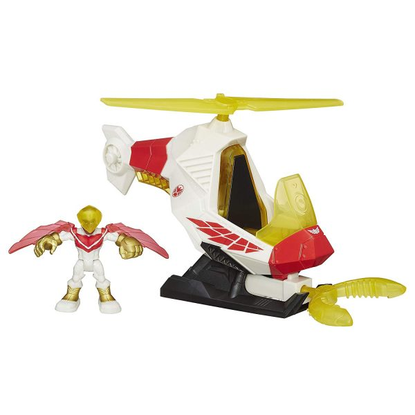 Playskool Heroes Marvel Super Hero Adventures Talon Copter with Marvels Falcon Action Figure