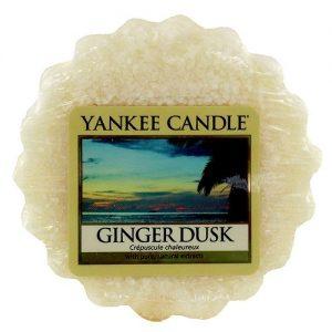 Yankee Candle Ginger Dusk Wax Tart - 8 Hour Burn Time