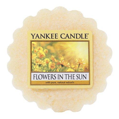 Yankee Candle Flowers In The Sun Wax Tart Melt, Plastic, Yellow