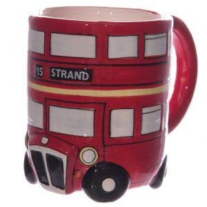 Papillon Gift 3D Shaped Routemaster London Red Bus Mug