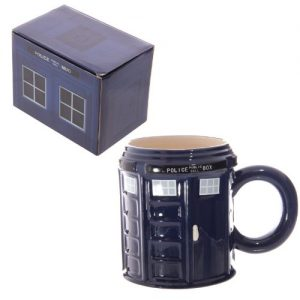Puckator Ceramic Police Box Mug. Great for Dr Who Fans