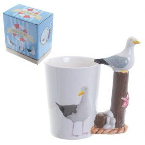 Seaside Seagull Mug