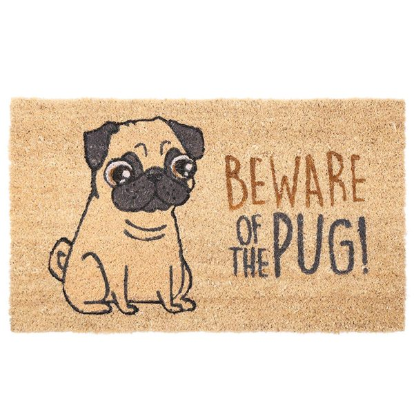 Beware of the Pug doormat