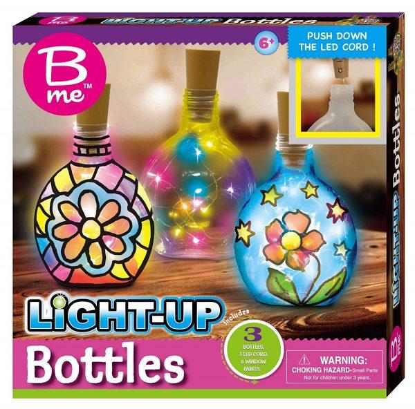B Me Childrens Arts And Craft Light Up Set Bottles