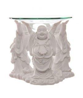 Puckator-White-Laughing-Buddha-Oil-Burner-11cm-(OS)
