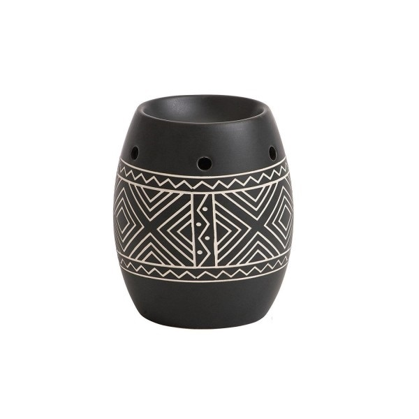 Yankee Candle African Etched Ceramic Wax Burner