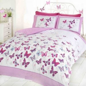 Duvet Sets Double Butterfly Bedding Set