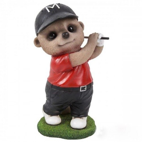 Pet Pal Golfer Gift Baby Meerkat Ormaments